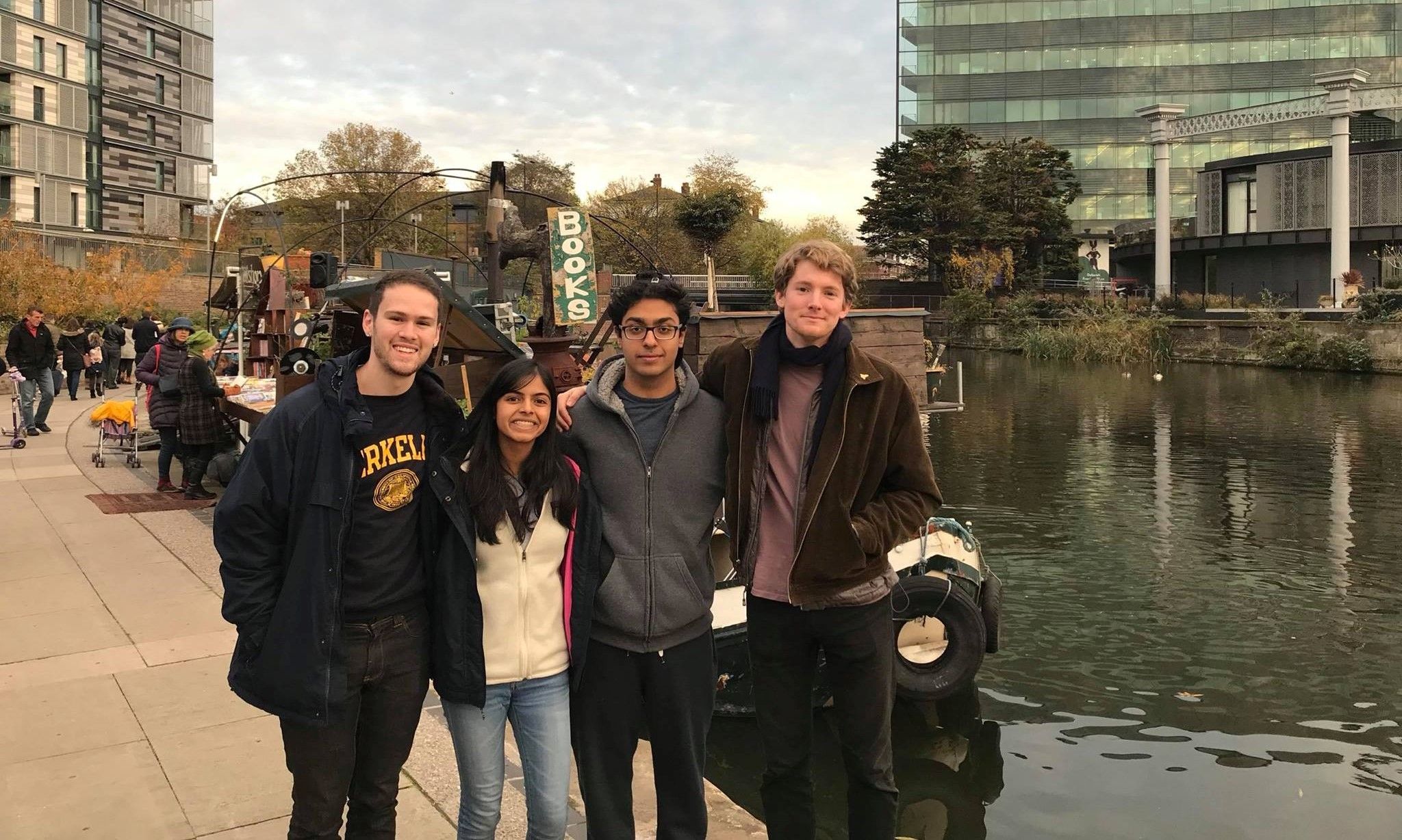 Visiting London after the 2017 Cambridge IV