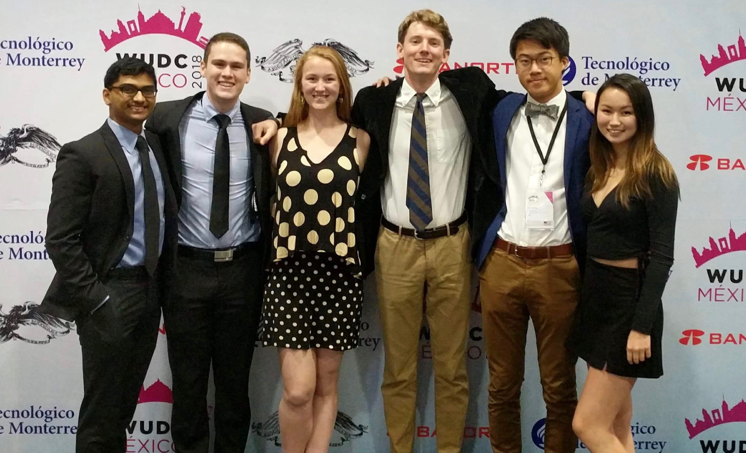 The Berkeley contingent at the 2018 World Universities Debating Championship in Mexico